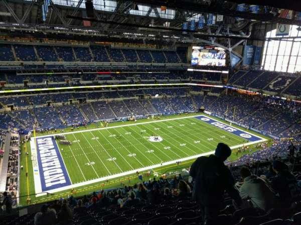 Lucas Oil Stadium, section: 617, row: 19, seat: 17