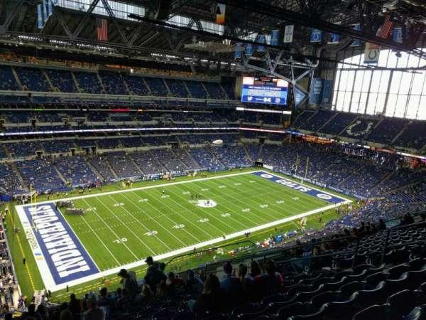 Lucas Oil Stadium, section: 618, row: 14, seat: 11