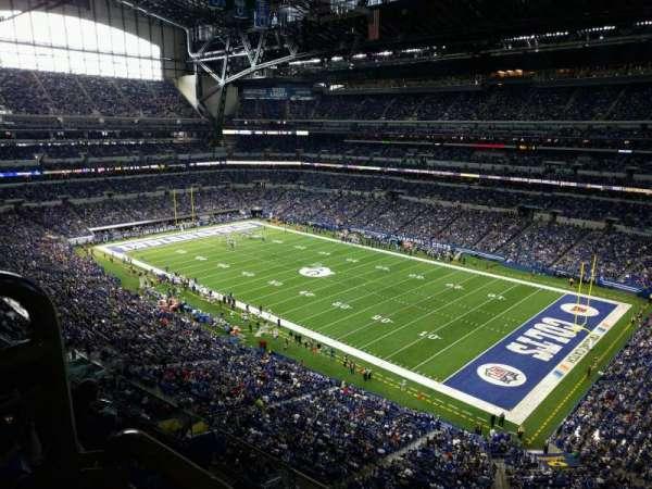Lucas Oil Stadium, section: 507, row: 5w, seat: 12