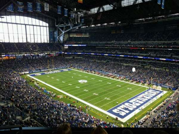 Lucas Oil Stadium, section: 533, row: 4n, seat: 23