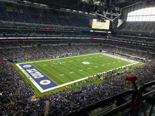 Lucas Oil Stadium, section: 546, row: 5w, seat: 5