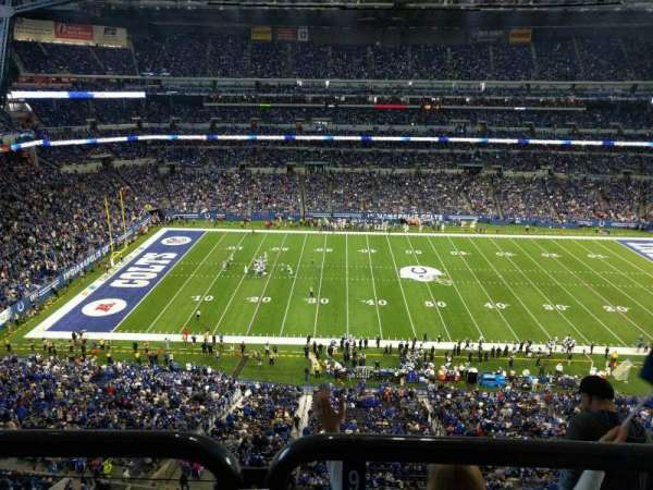 Lucas Oil Stadium, section: 541, row: 5w, seat: 9