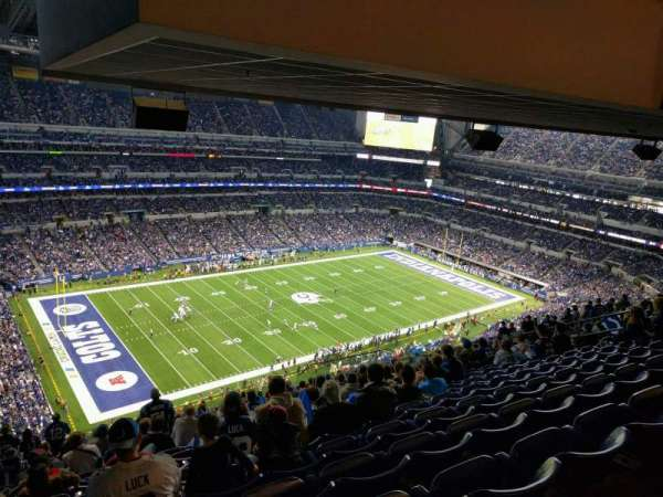 Lucas Oil Stadium, section: 645, row: 19, seat: 20