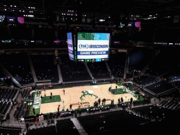 Fiserv Forum, section: 223, row: 4, seat: 11