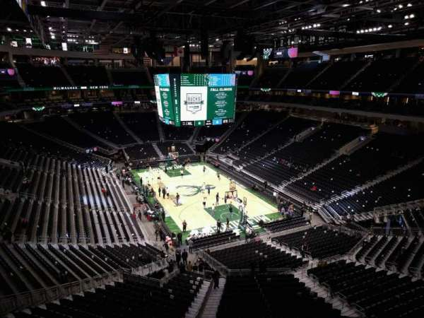 Fiserv Forum, section: 217, row: 4, seat: 10