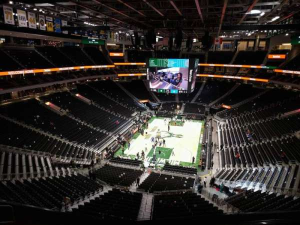 Fiserv Forum, section: 214, row: 6, seat: 10