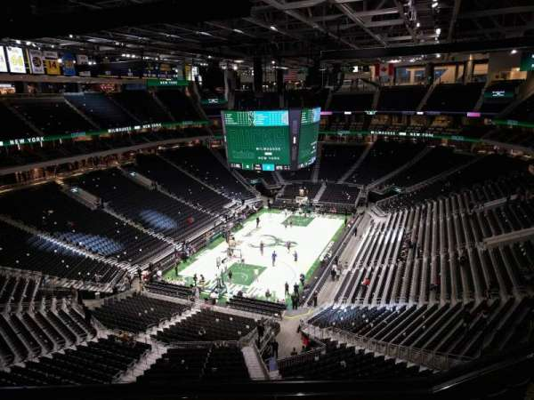 Fiserv Forum, section: 213, row: 8, seat: 13