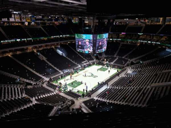 Fiserv Forum, section: 212, row: 11, seat: 6