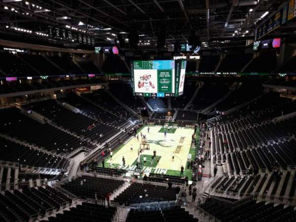 Fiserv Forum, section: 228, row: 1, seat: 11