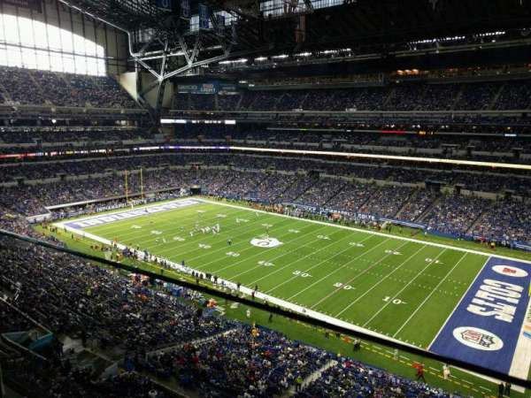 Lucas Oil Stadium, section: 508, row: 1, seat: 26