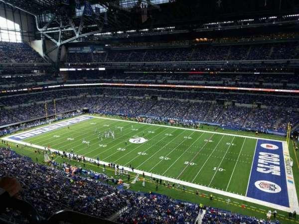 Lucas Oil Stadium, section: 509, row: 5w, seat: 8