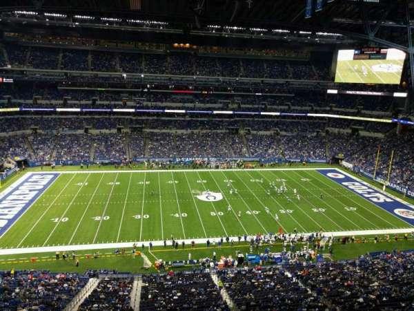 Lucas Oil Stadium, section: 514, row: 5w, seat: 10
