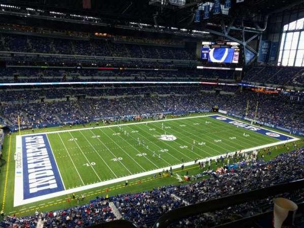 Lucas Oil Stadium, section: 517, row: 5w, seat: 12