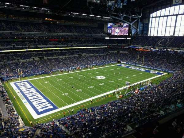 Lucas Oil Stadium, section: 518, row: 2, seat: 26
