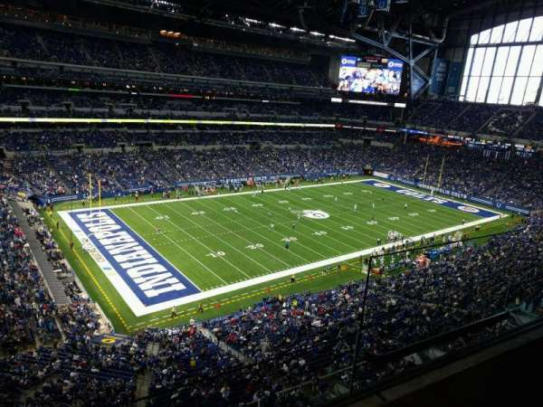 Lucas Oil Stadium, section: 519, row: 2, seat: 3