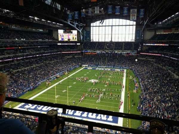 Lucas Oil Stadium, section: 525, row: 5w, seat: 4