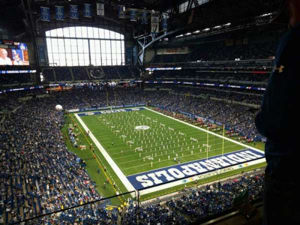 Lucas Oil Stadium, section: 529, row: 2, seat: 22