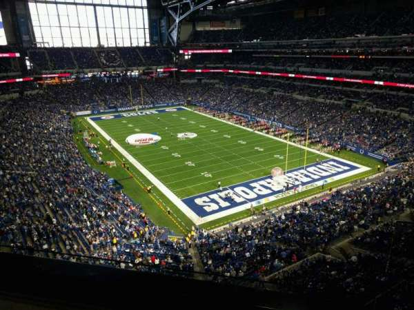 Lucas Oil Stadium, section: 531, row: 2, seat: 1