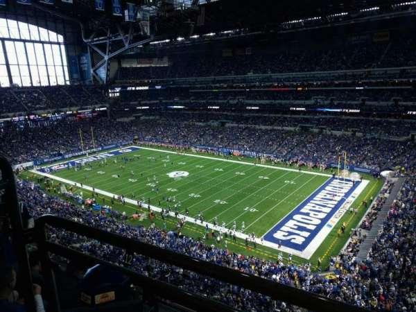 Lucas Oil Stadium, section: 534, row: 5w, seat: 11