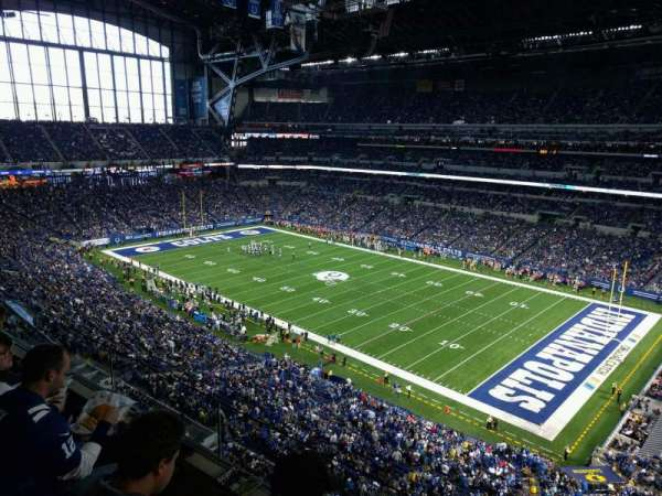 Lucas Oil Stadium, section: 534, row: 2, seat: 1