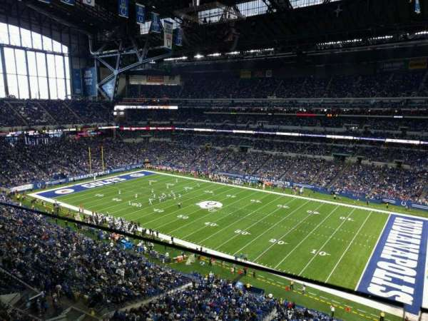 Lucas Oil Stadium, section: 536, row: 1, seat: 2