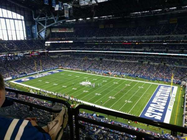 Lucas Oil Stadium, section: 535, row: 5w, seat: 13