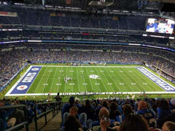 Lucas Oil Stadium, section: 641, row: 17, seat: 24