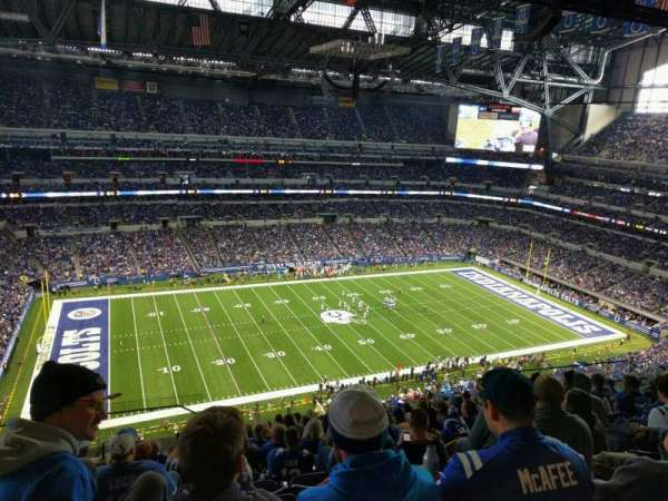 Lucas Oil Stadium, section: 643, row: 14, seat: 19