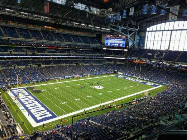 Lucas Oil Stadium, section: 519, row: 2, seat: 2