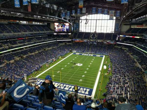 Lucas Oil Stadium, section: 624, row: 16, seat: 15