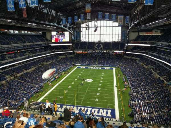 Lucas Oil Stadium Section 625 Home Of Indianapolis Colts