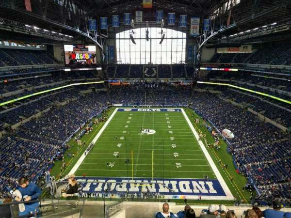 Lucas Oil Stadium, section: 626, row: 9, seat: 20