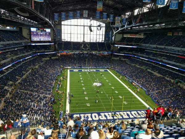 Lucas Oil Stadium, section: 628, row: 15, seat: 20