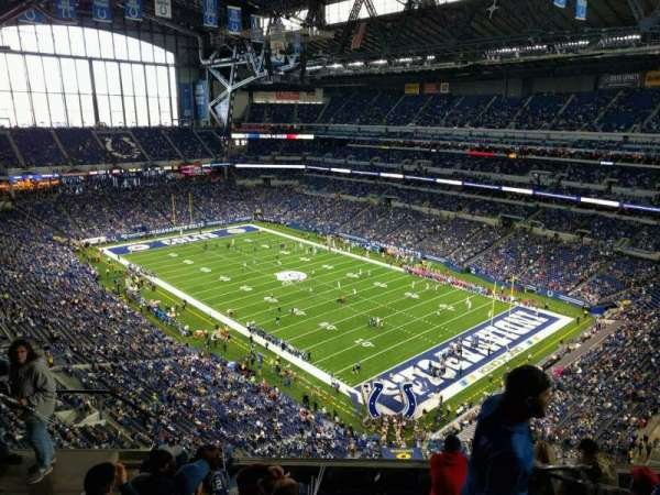Lucas Oil Stadium, section: 632, row: 7, seat: 19
