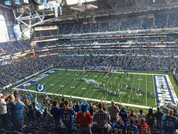 Lucas Oil Stadium, section: 637, row: 13, seat: 13