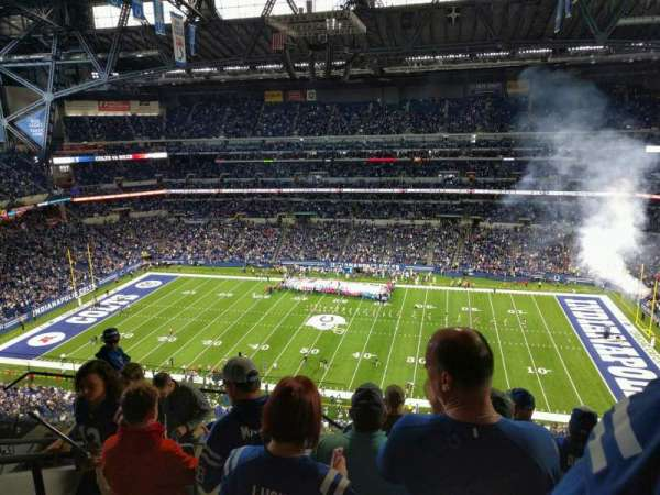 Lucas Oil Stadium, section: 639, row: 7, seat: 19
