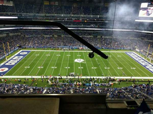 Lucas Oil Stadium, section: 640, row: 2, seat: 24