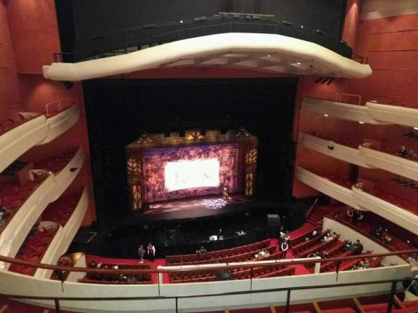 Fox Cities Performing Arts Center, section: family circle, row: d, seat: 416