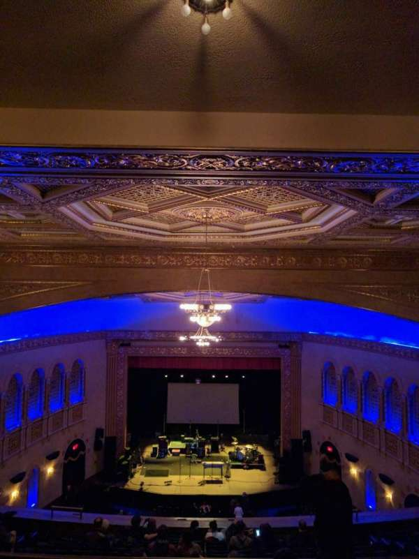 Michigan Theater, section: balcony center, row: p, seat: 107