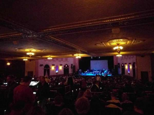 Michigan Theater, section: orchestra right, row: kk, seat: 10