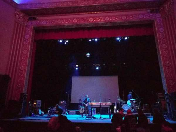 Michigan Theater, section: orchestra center, row: h, seat: 108
