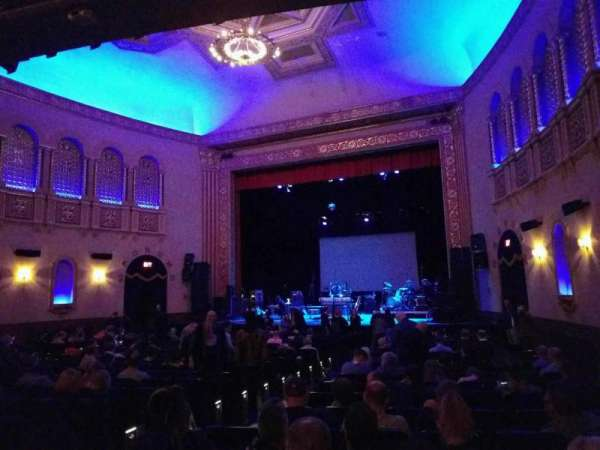 Michigan Theater, section: orchestra right, row: u, seat: 10