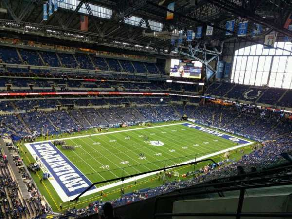 Lucas Oil Stadium, section: 619, row: 6, seat: 4