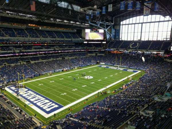 Lucas Oil Stadium, section: 520, row: 2, seat: 2