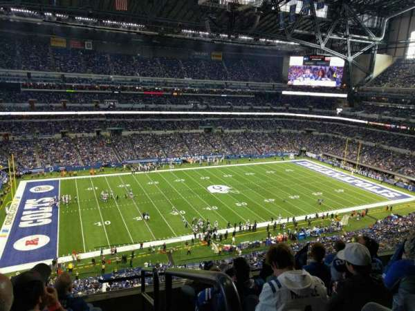 Lucas Oil Stadium, section: 544, row: 5, seat: 24