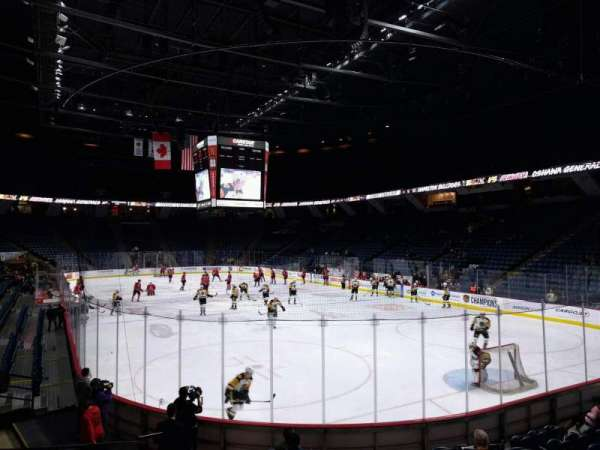 FirstOntario Centre, section: 117, row: 12, seat: 6