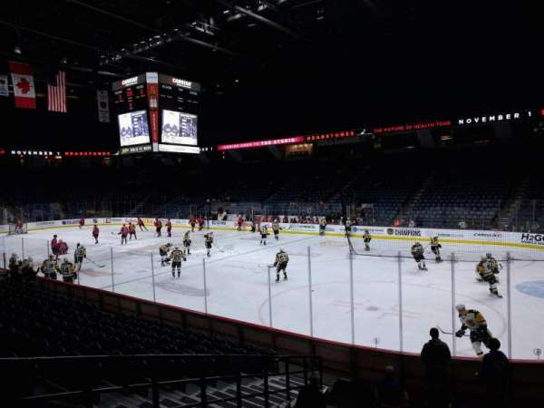 FirstOntario Centre, section: 119, row: 12, seat: 6