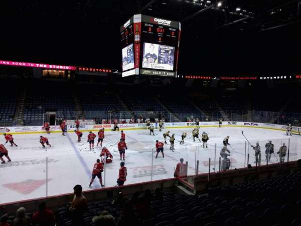 FirstOntario Centre, section: 123, row: 13, seat: 13