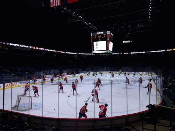 FirstOntario Centre, section: 127, row: 10, seat: 9
