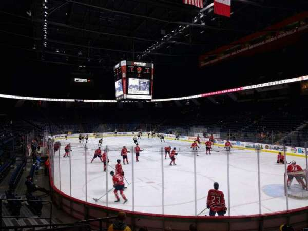FirstOntario Centre, section: 103, row: 10, seat: 6
